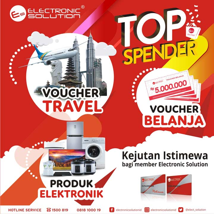 Promo Top Spender di Electronic Solution
