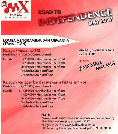 Drawing Coloring Competitions From Mx Mall Malang Mx Mall
