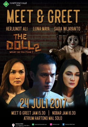 Meet & Greet with The Doll 2 Film Artist at Hartono Mall Solo