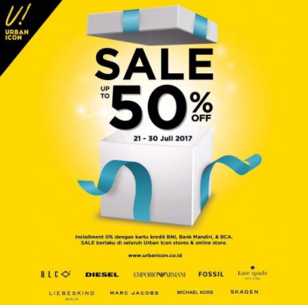 Sale up to 50% from Urban Icon