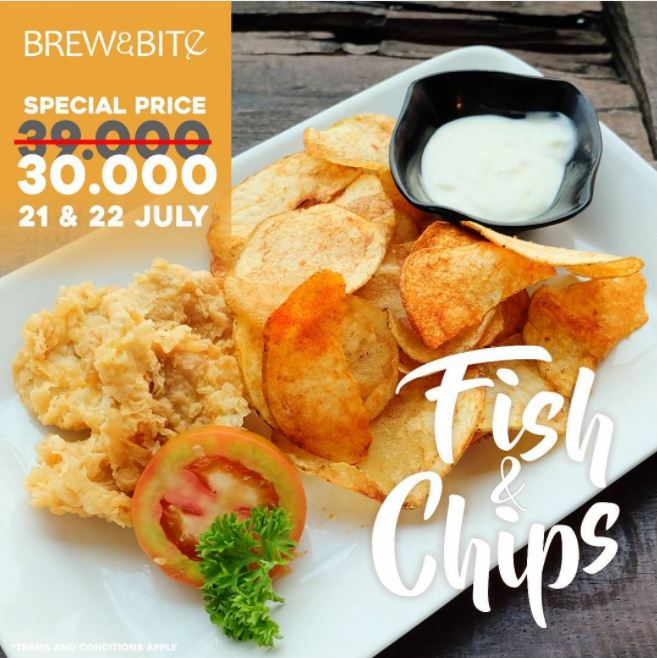 Special Price from Brew & Bite
