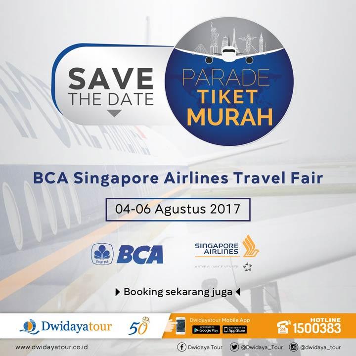 BCA Singapore Airlines Travel Fair at Gandaria City