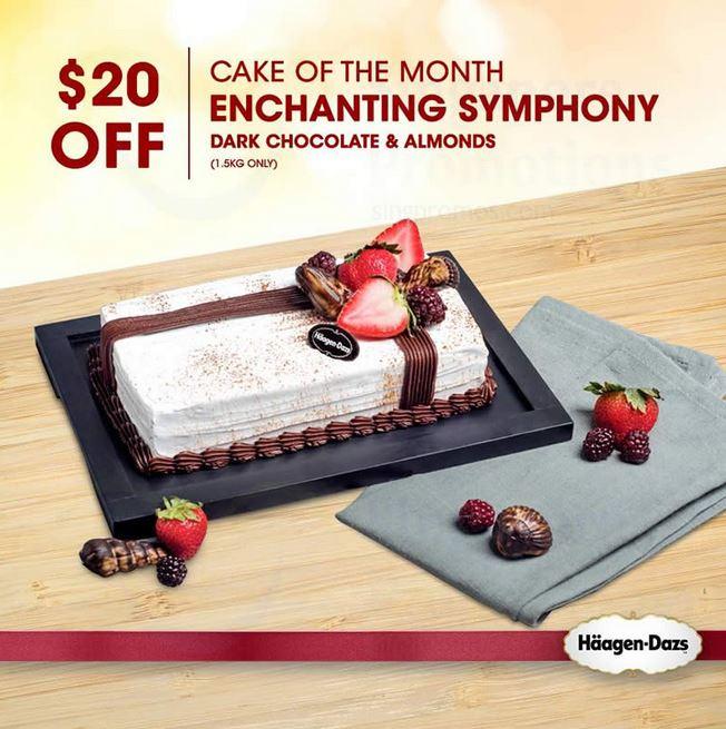 Get $20 Off Cakes at Häagen-Dazs