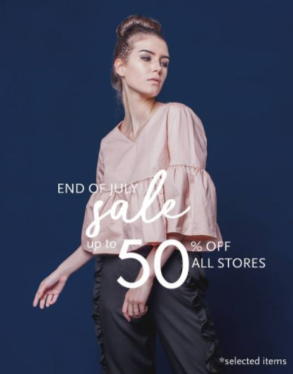 End of July Sale up to 50% from This Is April
