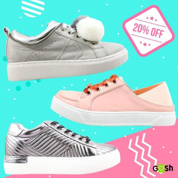 Discount 20% from Gosh Shoes