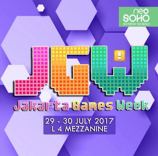 Jakarta Game Week di Central Park
