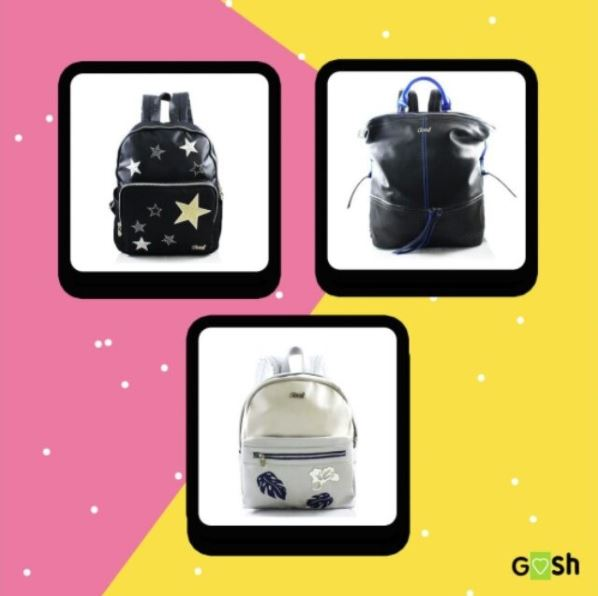 Discount 20% for Bag Items at Gosh Shoes