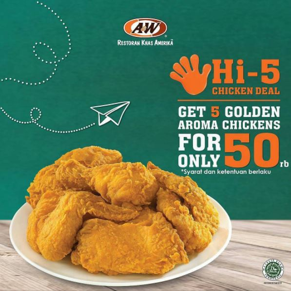 Hi-5 Promotions from A&W