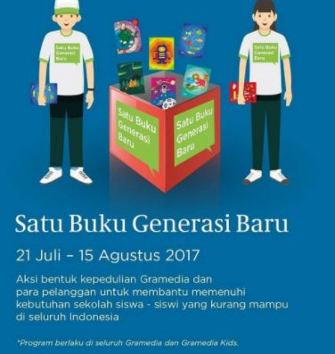 Book Donation Activities from Gramedia