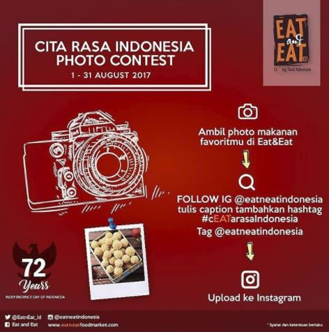Cita Rasa Indonesia Photo Contest bersama Eat & Eat