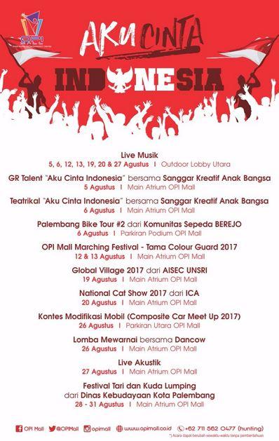 Aku Cinta Indonesia With Opi Mall Gotomalls