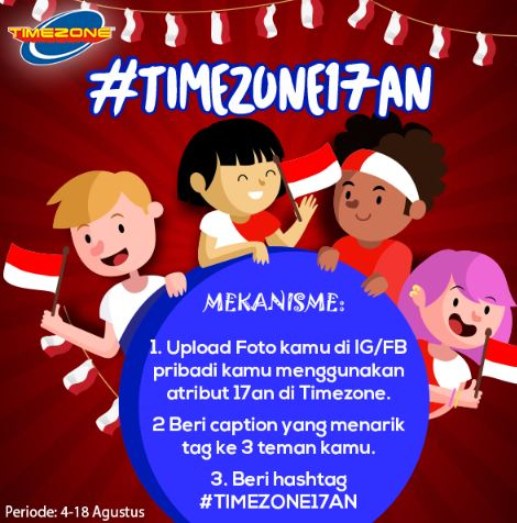 Get Rp 500.000 Voucher from Timezone