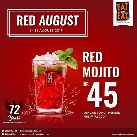 Special Price for Red Mojito at Eat & Eat</h3>
