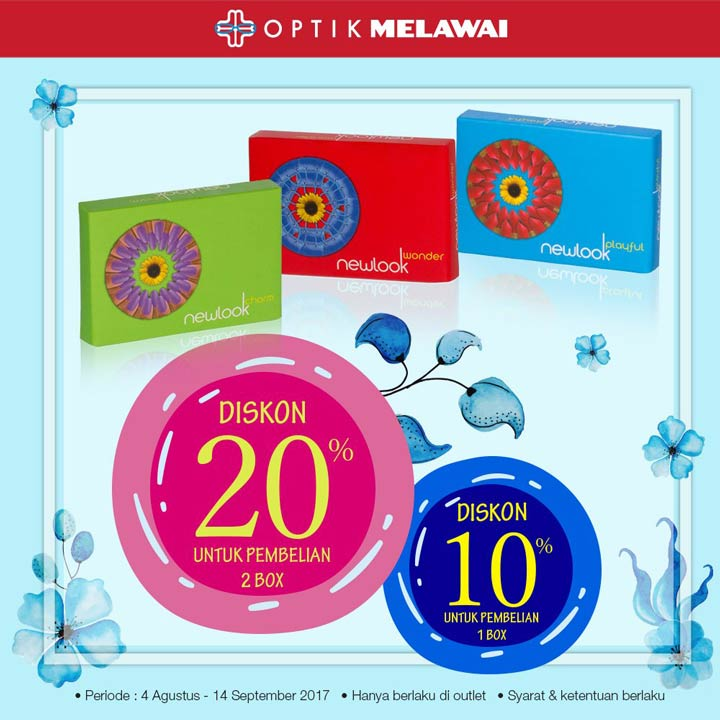 Discount Up to 20% dari Optik Melawai</h3>