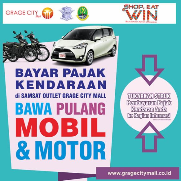 Win Cars & Motorbikes from Grage City Mall