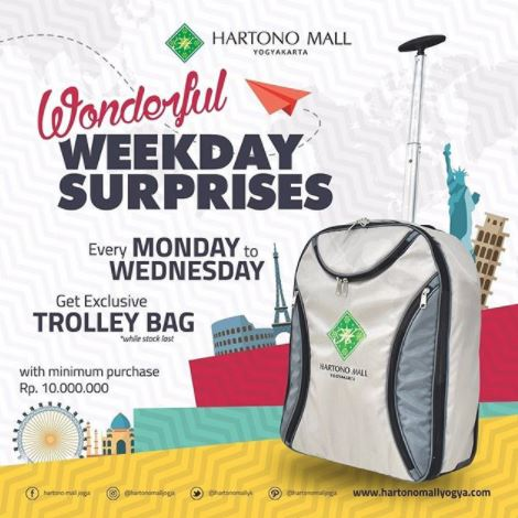 Wonderful Weekday Surprises dari Hartono Mall Jogja