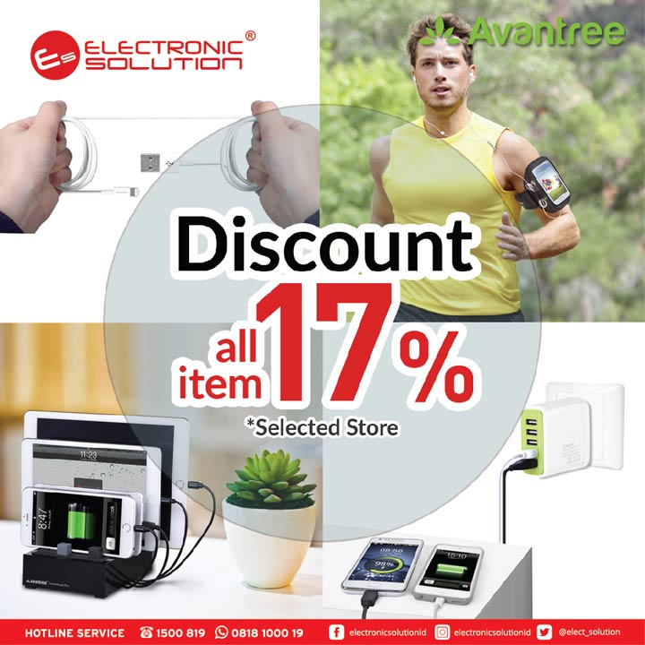 Discount 17% for Avantree Product at Electronic Solution