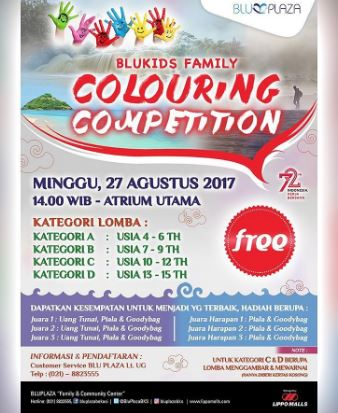 Coloring Competition at Blu Plaza Bekasi