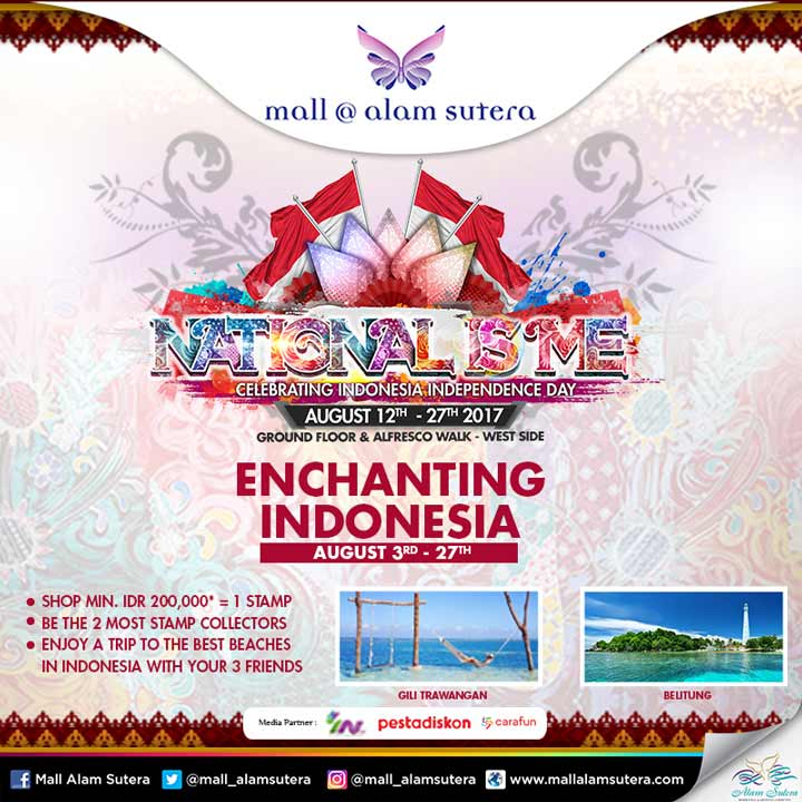 Enchanting indonesia event from mall alam sutera mall alam sutera enchanting indonesia event from mall alam sutera thecheapjerseys Image collections