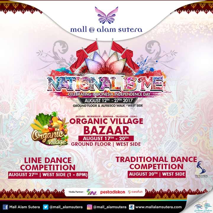 Acara National Is Me di Mall @ Alam Sutera