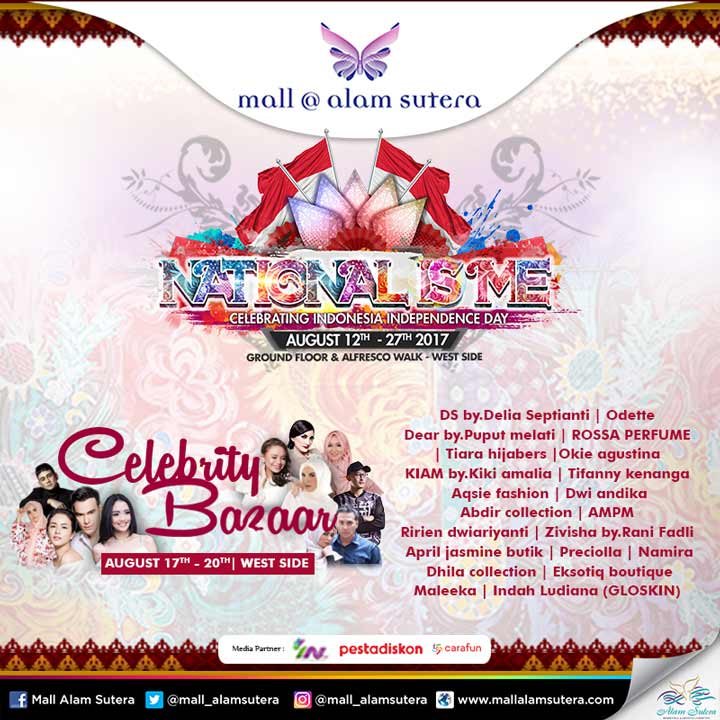 Celebrity Bazaar Event at Mall @ Alam Sutera