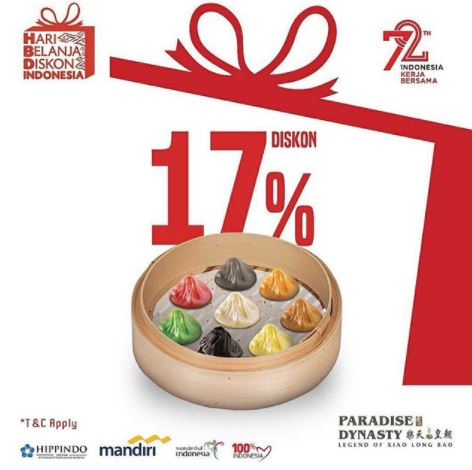 Discount 17% from Paradise Dynasty