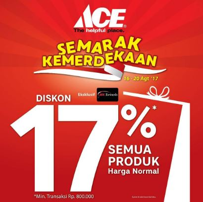 Discount 17 Off On Ace Hardware Lippo Mall Kemang