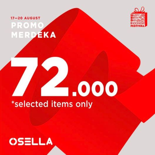 Promo Merdeka dari Osella