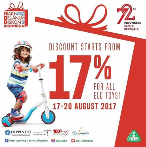 Discounts start at 17% at the Early Learning Center