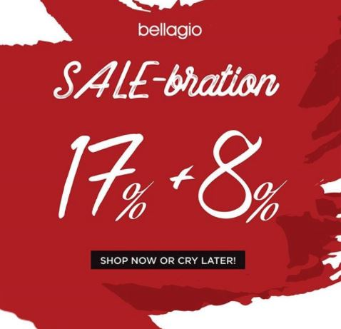 Sale-bration from Bellagio