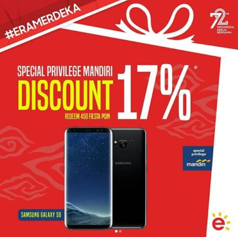Promosi Diskon 17% dari Erafone