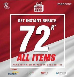 Get Instant Rebate 72K at Manzone