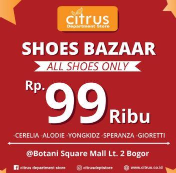 Shoes Bazar Citrus at Botani Square Mall