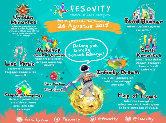 Festival Of Social Creativity at QBig BSD City