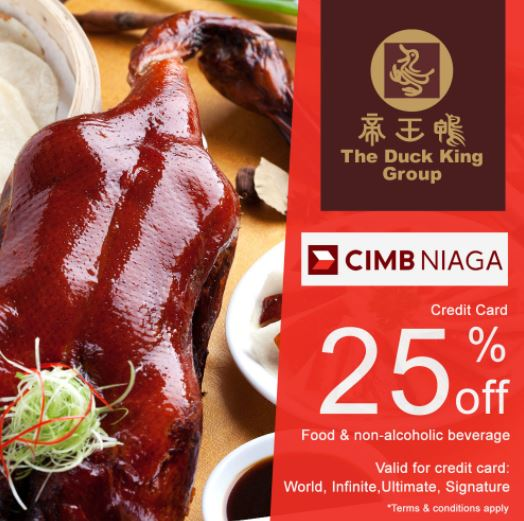 25% Discount Promo from The Duck King