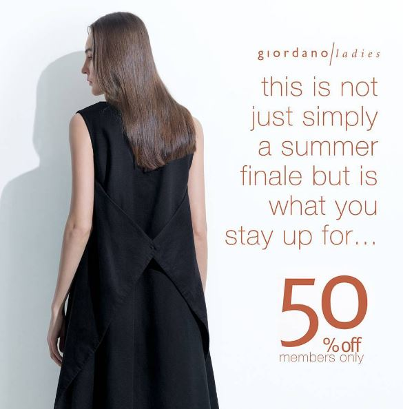 Discount 50% Off from Giordano