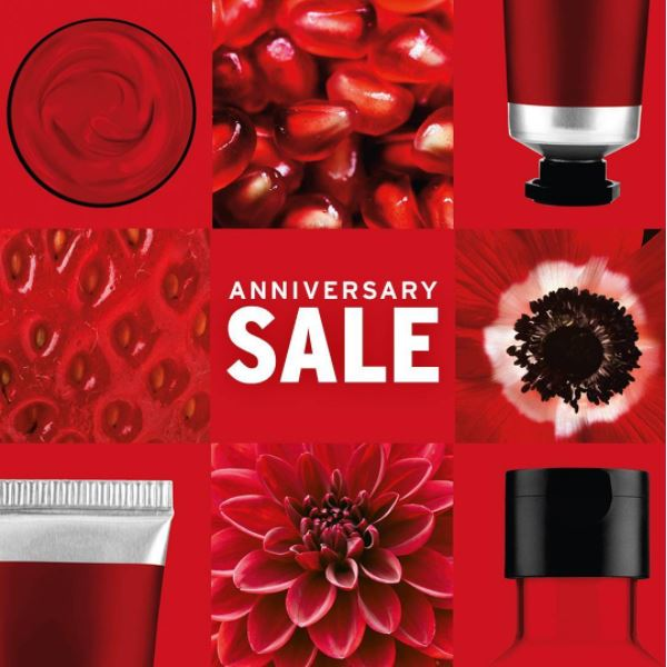 Discount 50% from The Body Shop