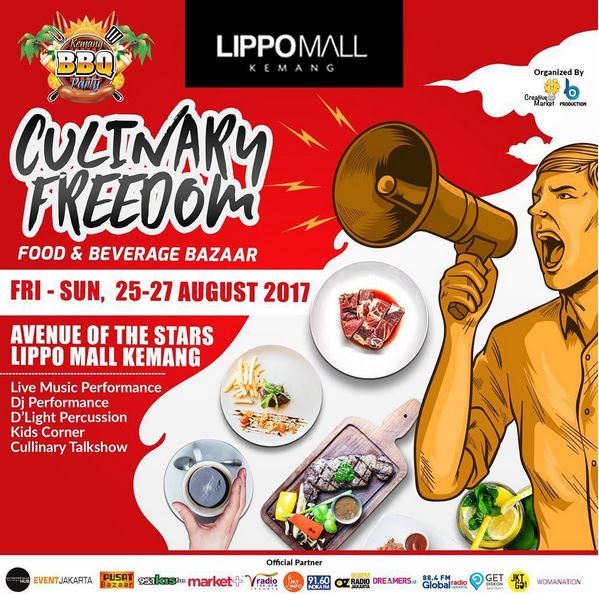 Event Culinary Freedom at Lippo Mall Kemang
