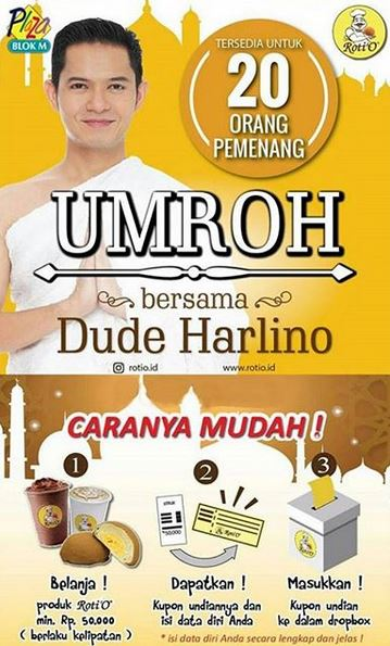 Win Umroh Package  from Roti O