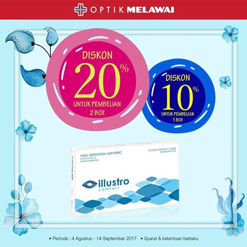 Discount Up To 20% from Optik Melawai