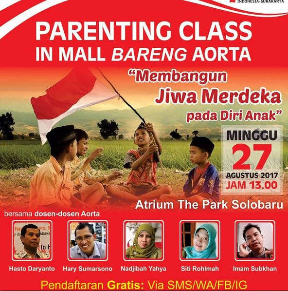 Event Parenting Class at The Park Mall