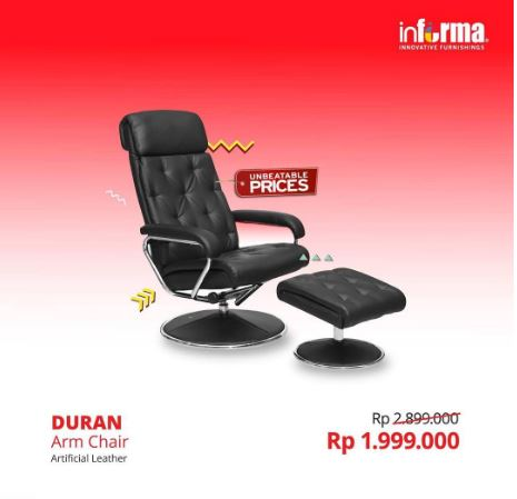 Promo Discount Arm Chair at Informa