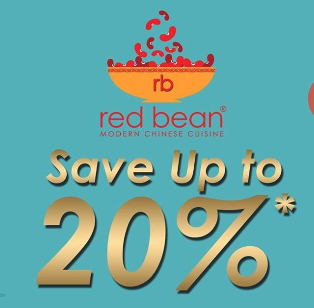 Save up to 20% from Red Bean