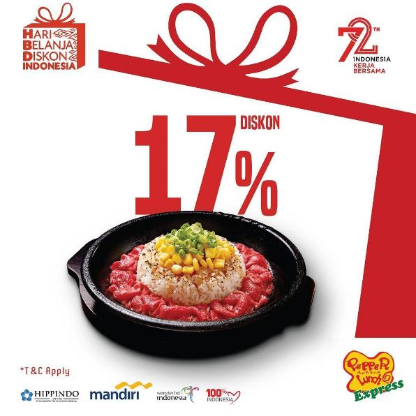 Discount 17% Off at Pepper Lunch