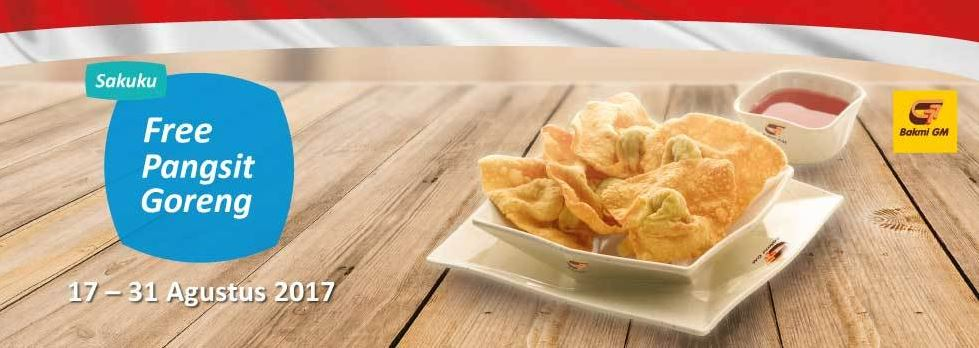 Free Pangsit Promotion at Bakmi GM