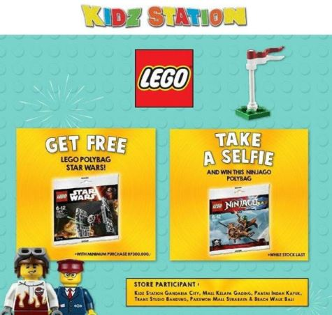Free Toy Promotion from Kidz Station