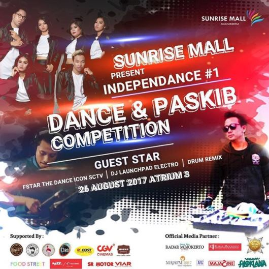 Dance & Paskib Competition di Sunrise Mall