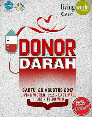 Donor Darah di Living World Alam Sutera
