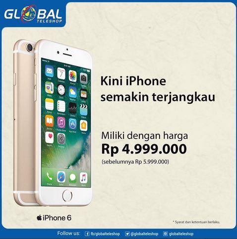 Promosi Iphone 6 di Global Teleshop  h3  03d918f0a5