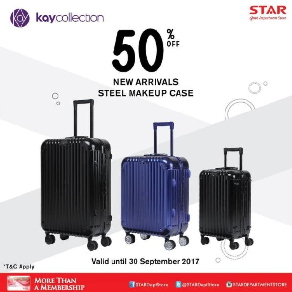 diskon 50 dari kay collections di star dept store summarecon mal